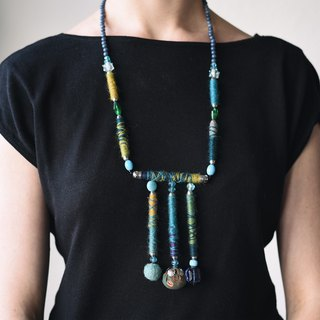 Ethnic neckless, made in Amsterdam