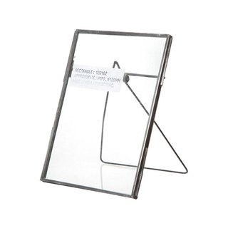 STANDARD FRAME Rectangle Vintage Metal Frame Stand - Rectangular