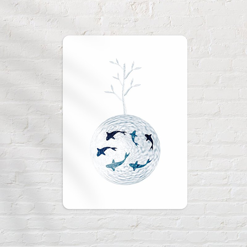 明信片 l 水世界