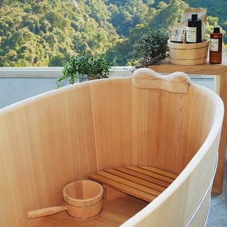 Taiwan Elm bath barrel 3 feet / 3.5 feet / 4.2 feet / 4.6 feet (customized custom-made)