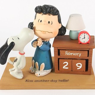 Snoopy Hand Calendar Sculpture - Good Morning Hand Sculpture of Hallmark-Peanuts Snoopy