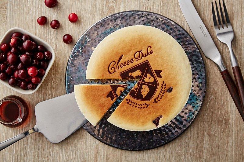 楓糖蔓越莓乳酪蛋糕6吋