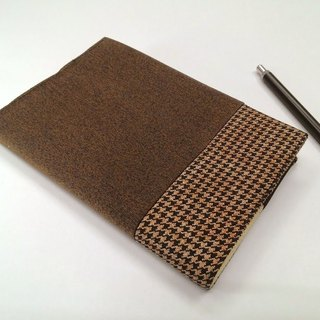 Exquisite A6 cloth book clothing ~ brown (single product) B04-037