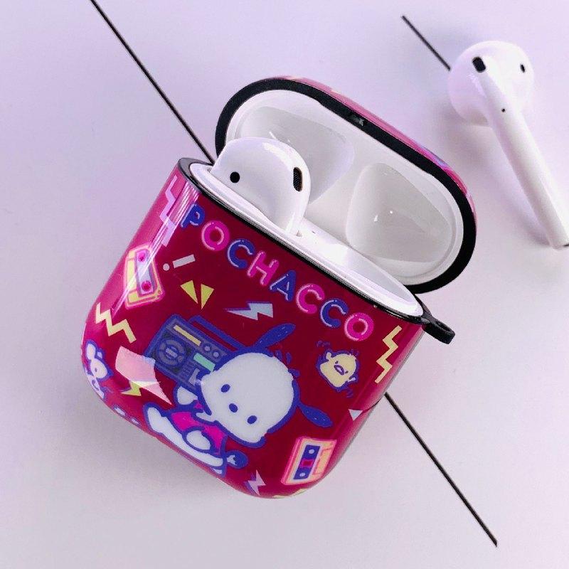 【Hong Man】三麗鷗系列 AirPods防塵耐磨保護套 帕恰狗 DJ之夜