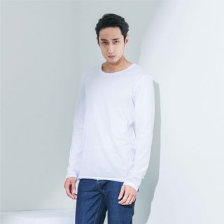 Bread & Boxers Crew Neck Relaxed Long Sleeved Nordic Fashion Tee Eugene Tong With organic cotton