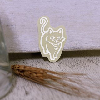 NINKYPUP reflective sticker cats 2.5 * 4cm