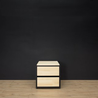 Creesor - Shido 40 Industrial Wind Cabinet Chest of Drawers