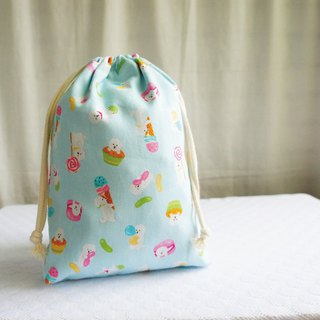 Lovely Japanese cloth [Bichon TN Notepad Pocket Bag Pocket] can be loaded with long clips with lining