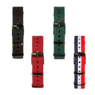 14mm SIGNATURE NATO STRAP Bundle (Set of 4)