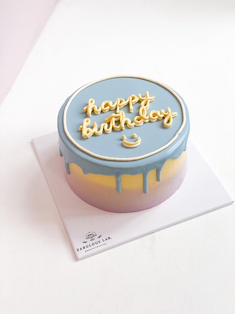 藝術蛋糕Drip Cake體驗・客製化・小班制教學
