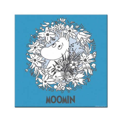 Moomin Moomin authorization - Picture frame 40 * 40cm: [Moomin]