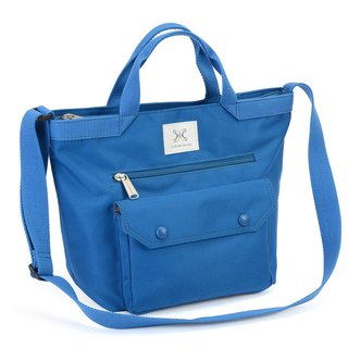 LaPoche Secrete: Wen Qing Style Strap _ Royal Blue _ shoulder portable A4