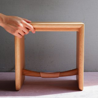 Wooden Bench / Smile Bench /