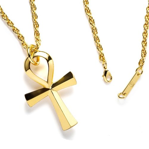 Break the chain of life necklace Solo Ankh Chain Necklace