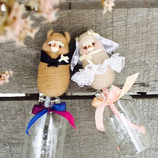Pre-order-gp home-wedding Wedding Alpaca Wool Feather Tuoxiang Bottle/Fragrance Bottle/Fragrance/Oil/Aromatherapy