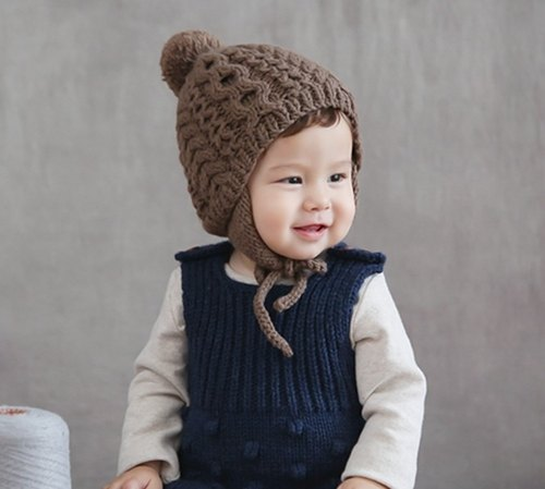 Happy Prince Kai baby knitted hat