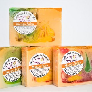 Australia Soap by Elena natural handmade soap - mango Sao Sha