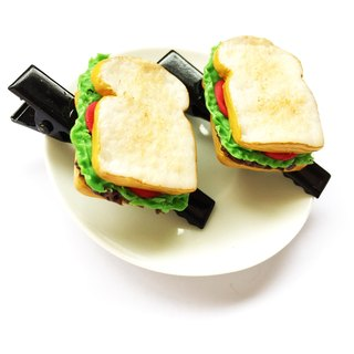 Sandwich hair black.