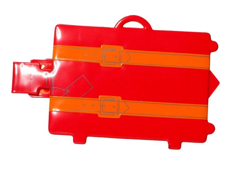 威囹�b��.��\�L�My.���/_rollog my suitcase 行李标签(红色) - 设计师   新威