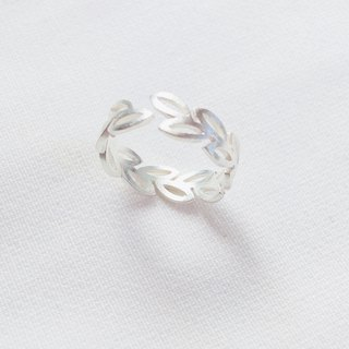 Flowers and Lace Opening Rings S925 Sterling Silver Ring Anti-allergy