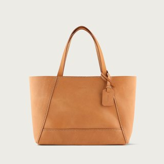 Carry-on bag (M) tote -- camel yellow