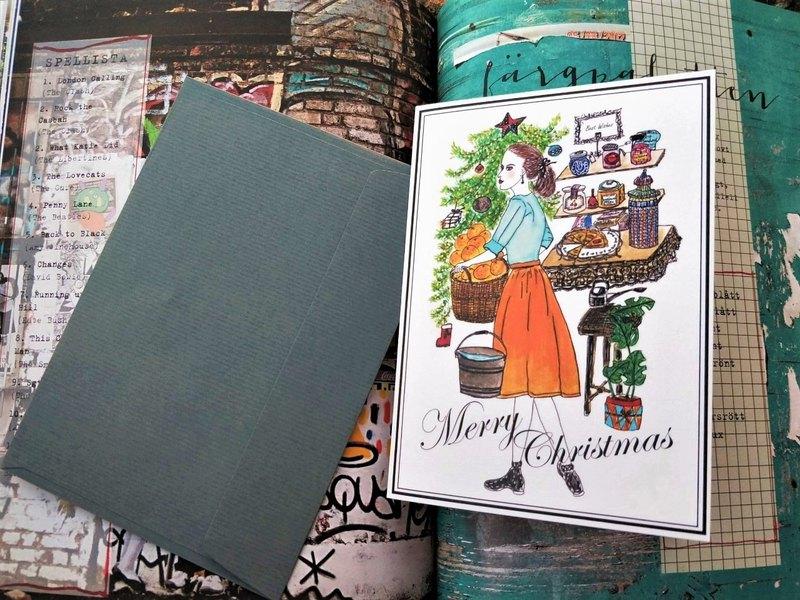 Greeting cards /手繪/卡片/賀卡/聖誕節
