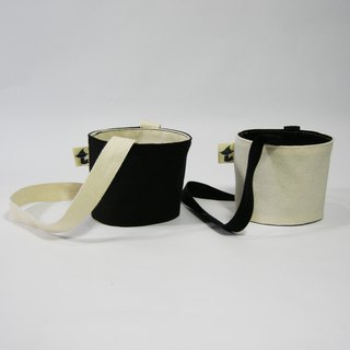 Eco-friendly beverage bag (no plain rice white canvas black canvas) gift gift
