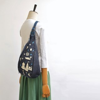 Shoulder bag · Prince Shiratori embroidery