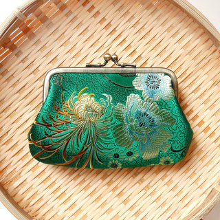 Second wife Zhuo Yun mouth gold bag picture bag / purse] [Made in Taiwan