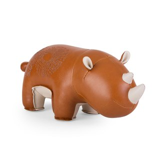 Zuny - Rhino Hino Styling Animal Bookend & Paper Town (10th Anniversary Limited Set)