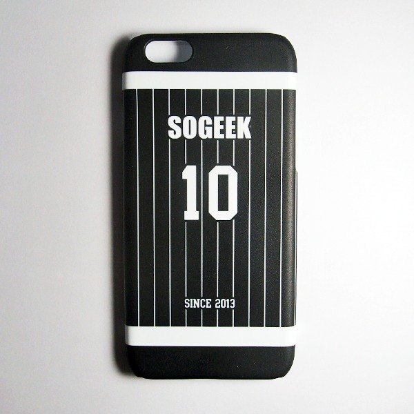 SO GEEK phone shell design brand THE JERSEY GEEK shirts back number Customized paragraph 060