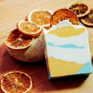 [Pomelo in memory] Story soap | Fragrance handmade goat milk soap