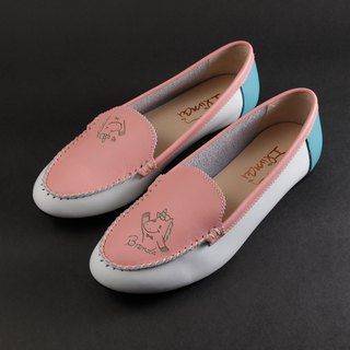 ILIMAI Brenda Simple Loafers - Mani Powder