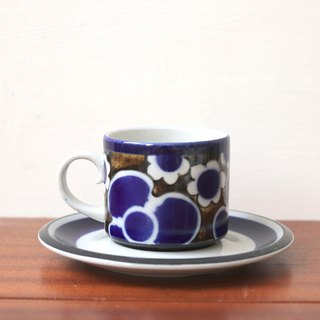 Finland Arabia SAARA Floral Coffee Cup Set