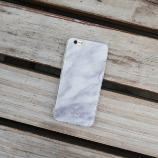 Original Classic Marble iPhone Samsung Phone Case Hard Shell Transparent Soft edge