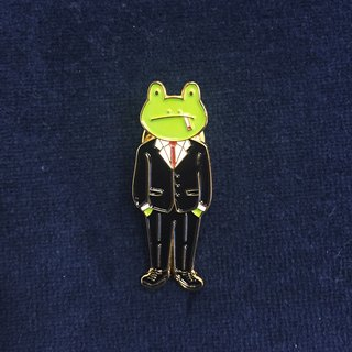 #15 The Frog Boss Pin/Brooch