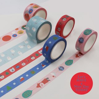 U-PICK original life color and paper tape Christmas decoration DIY tapes