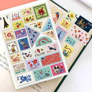 7321 Desgin - Stamp Sticker Set V4 - Nalita B01, 7321-04481