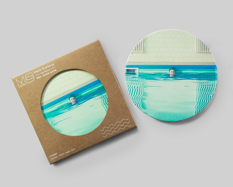Maria Svarbova Design Water Absorbing Coaster