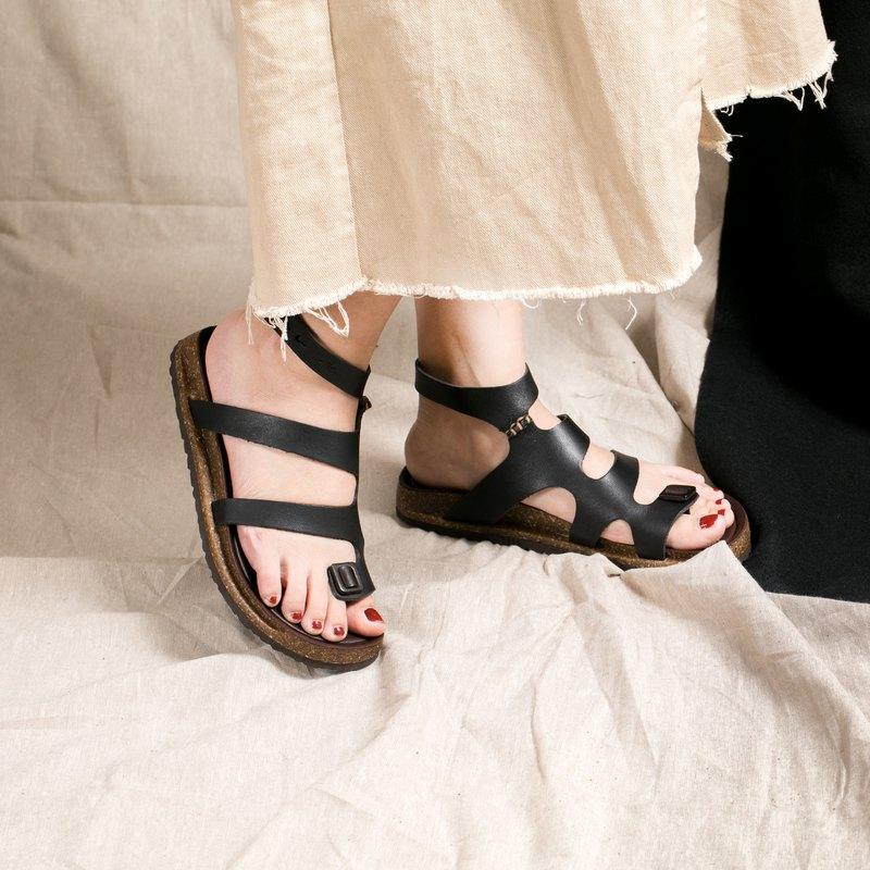 Leather Leather Roman SandalsBlack Leather Roman SandalsBlack SandalsBlack Leather Roman j5L43AR