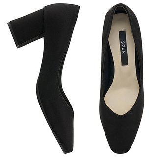 PRE-ORDER – SPUR Cozy square pumps MF7064 Black