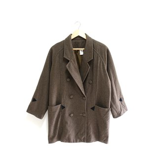 │Slowly│ steady - vintage wool coat │vintage. Retro. Literature