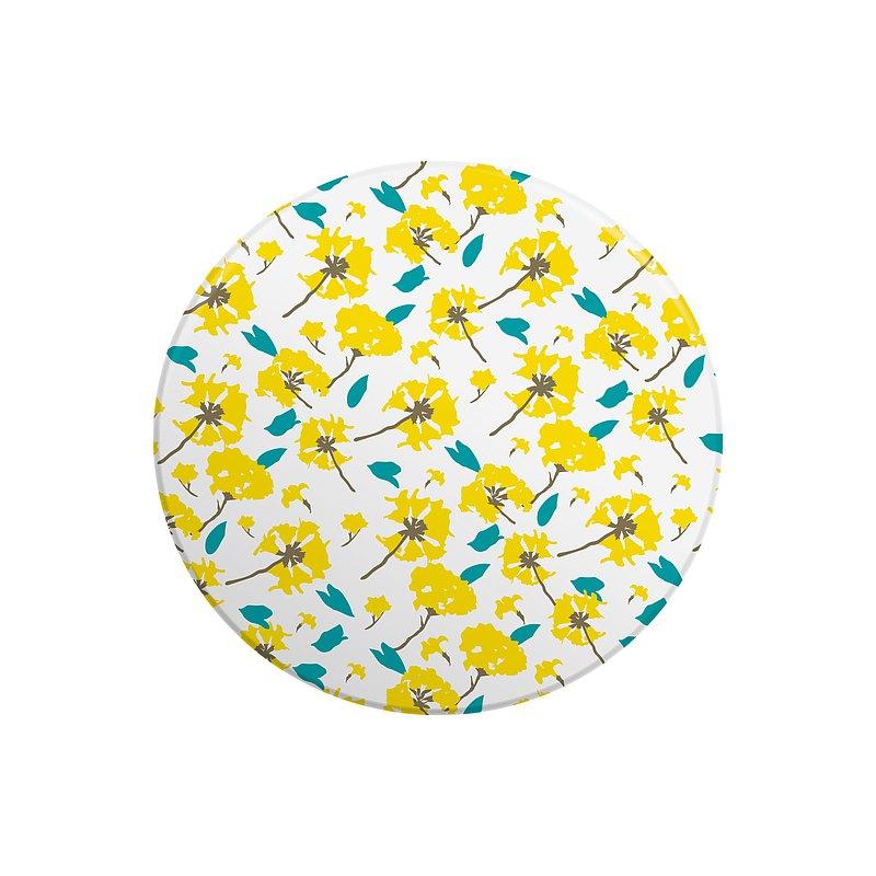 黃花陶瓷鍋墊