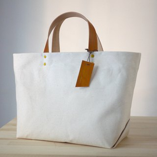 Big Wax Bag - Generate White Wax Canvas Tote Bag