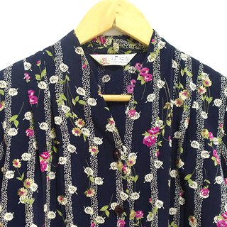 │Slowly│Fruit Flower - Vintage Shirt │vintage.Retro.Literature