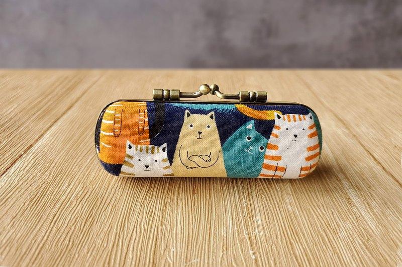熱賣商品 補貨到 限量款 日本布 貓咪排排站 口金印章盒