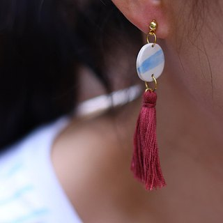 blue earth 2 earring