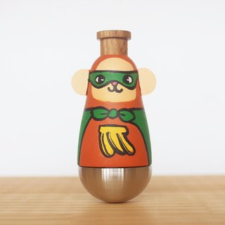 Wensen Di - Banana Monkey Superman Kzuoo KAZOO Doll
