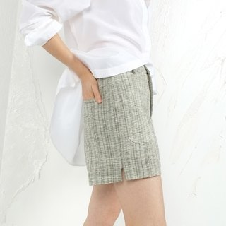 Gao fruit / GAOGUO original designer brand new women's 100% silk retro hot pants shorts wild Slim