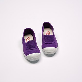 Spanish national canvas shoes CIENTA children's shoes size purple fragrant shoes 75997 45